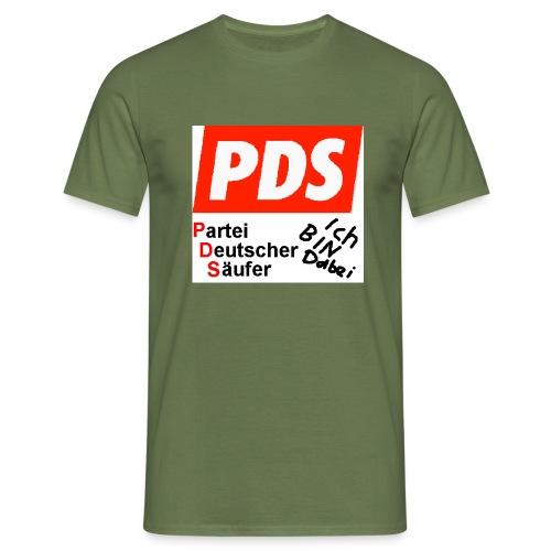 pds1 - Männer T-Shirt