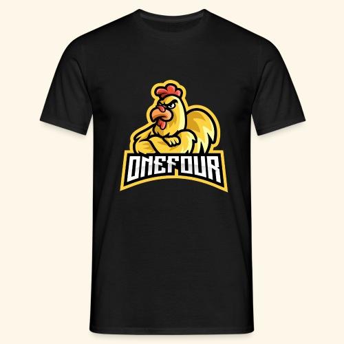 ONEFOUR Logo - Männer T-Shirt