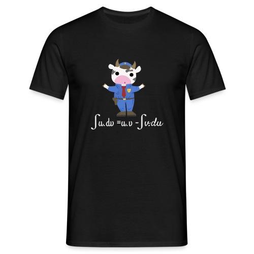 Una Vaca Vestida de Uniforme - Camiseta hombre