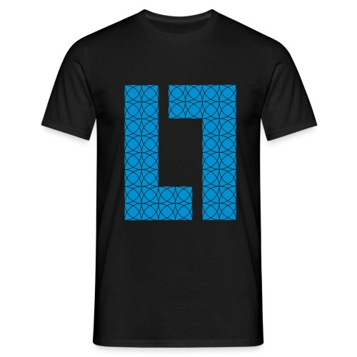 13 round pattern - Herre-T-shirt