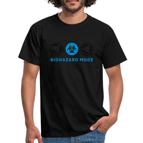 Biohazard Mode - Männer T-Shirt