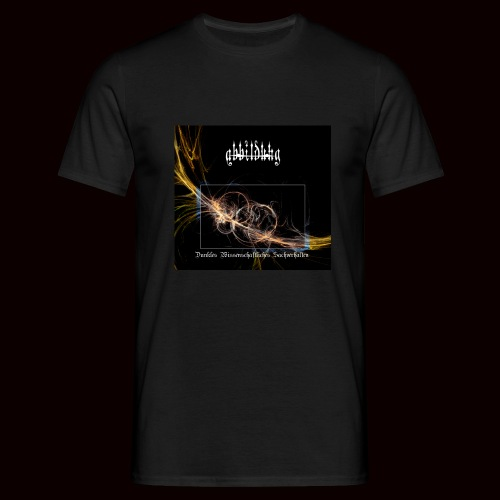 ABBILDUNG - Dark Scientific... - Mannen T-shirt