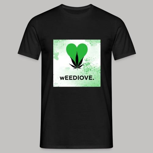 weedlove - Männer T-Shirt