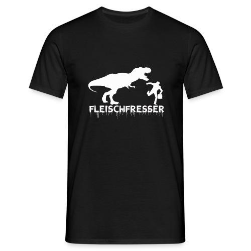 fleischfresser weiss - Männer T-Shirt