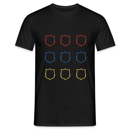 T Shirt Sagoma Scudo 4 png - Maglietta da uomo