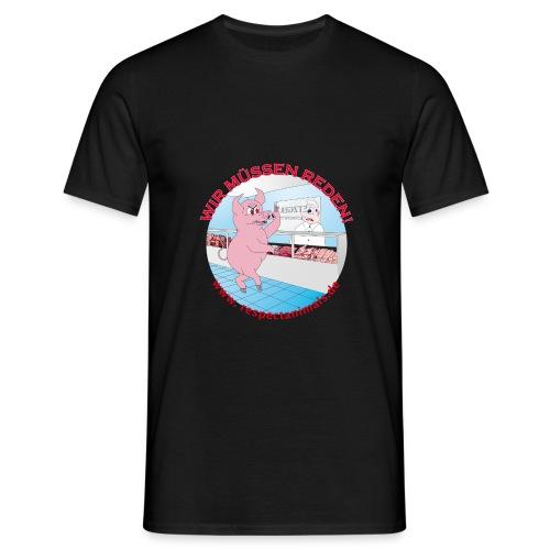 Metzgerei? WTF??? - Männer T-Shirt