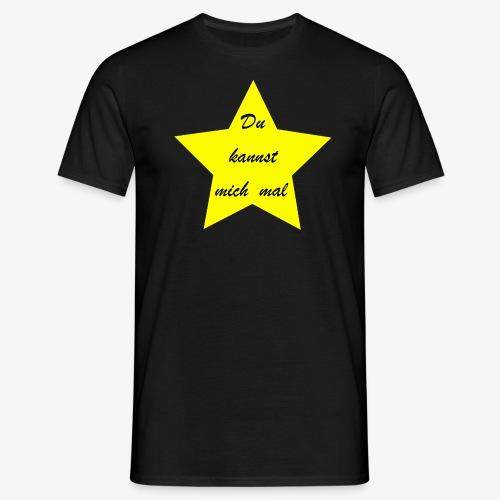 Du kannst mich mal - Männer T-Shirt