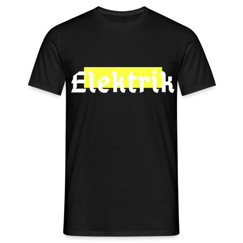 Elektrik Techno - Männer T-Shirt
