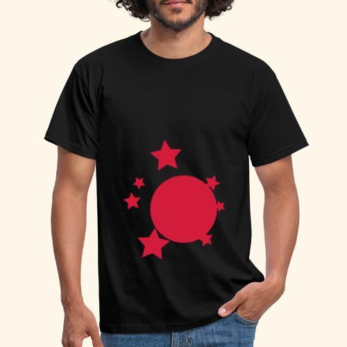 planeta i gwiazdy - Koszulka męska