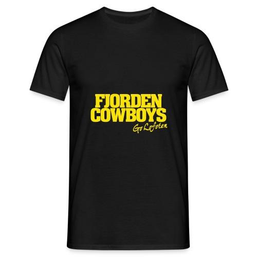 FJORDEN_COWBOYS_GO_LOFOTE - T-skjorte for menn