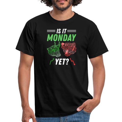 Är Det Måndag Snart Aktiemarknaden Trader - T-shirt herr