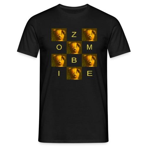 Zombie Teddy Bear Design - Men's T-Shirt