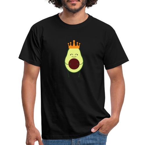 Avocado Liebe mit Krone - Männer T-Shirt