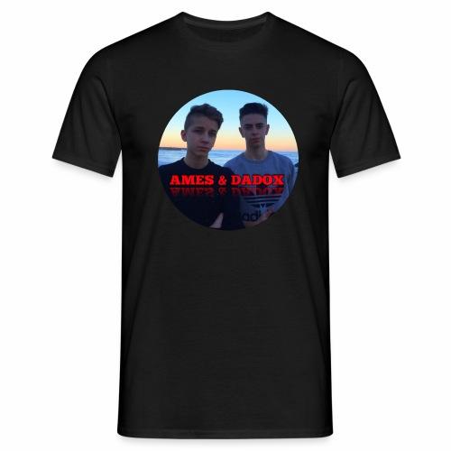 AMES & DADOX - Maglietta da uomo