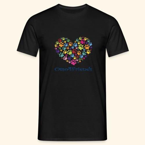 CUOREZAMPE - Maglietta da uomo