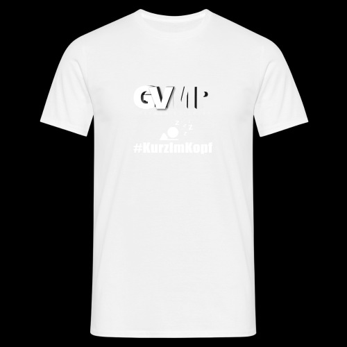 Kurz im Kopf - Männer T-Shirt