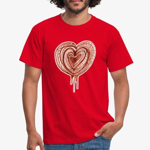muscular pump transp - Men's T-Shirt