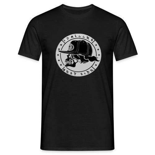 skull 13 milles noir et gris super design - T-shirt Homme
