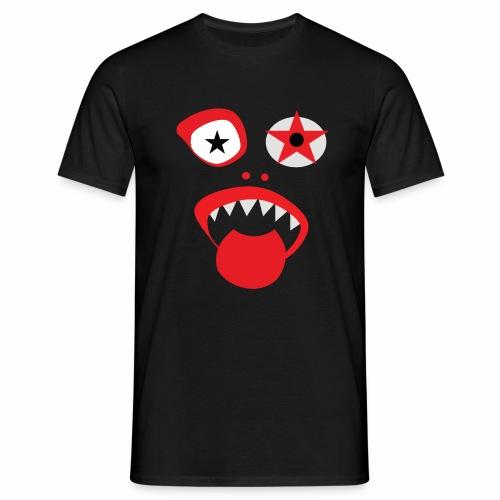 Clown Gesicht - Männer T-Shirt