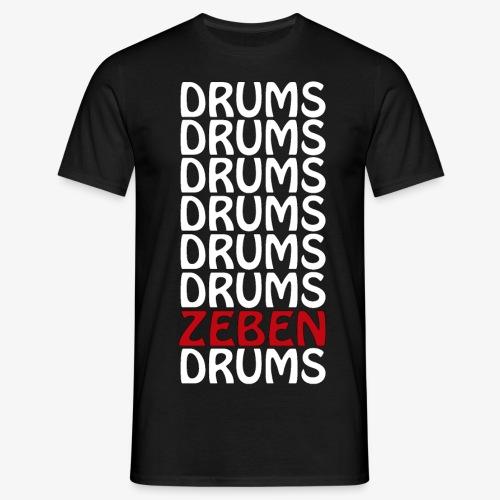 DRUMS ZEBEN DRUMS - Camiseta hombre