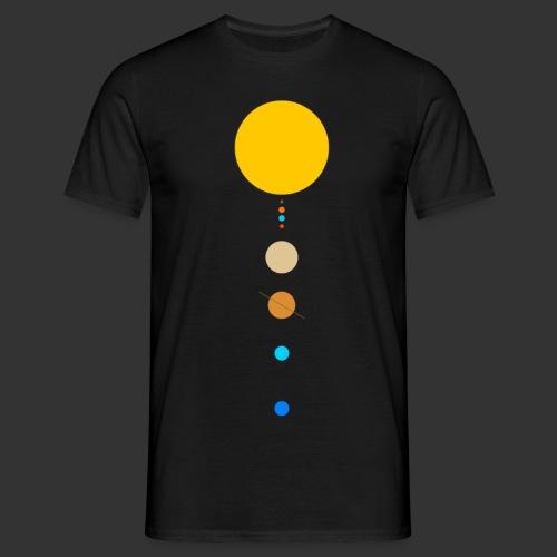 Solar System - Men's T-Shirt
