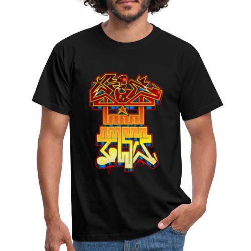 REDTWO SKULL - Maglietta da uomo
