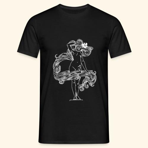FLORA NEGRA (LANDFALL) BW - Männer T-Shirt