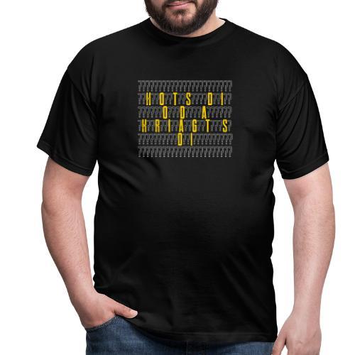 Vorschau: Hots di oda kriagts di - Männer T-Shirt