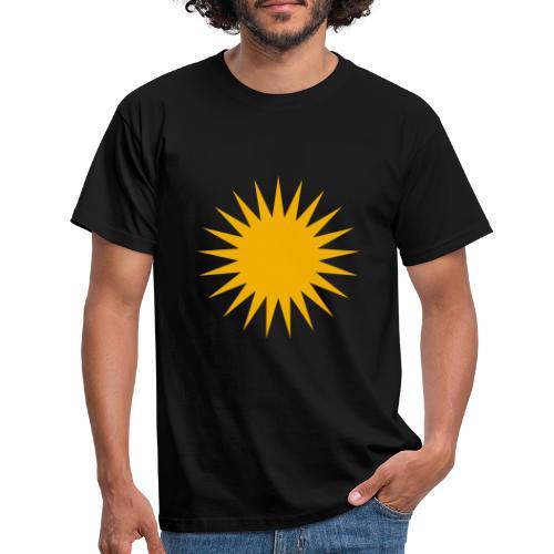 Kurdische Sonne Symbol - Männer T-Shirt