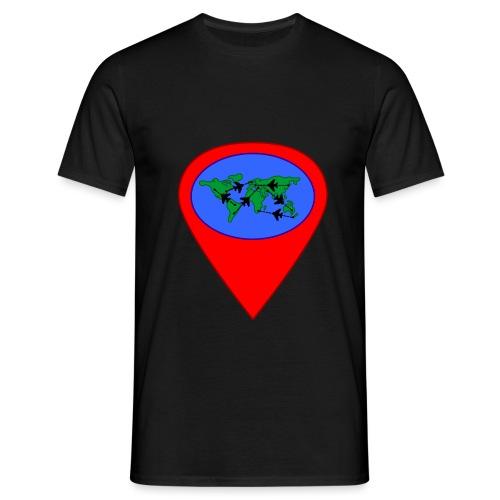 map - Camiseta hombre