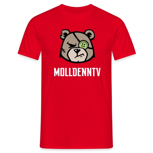 bear1-png - Herre-T-shirt