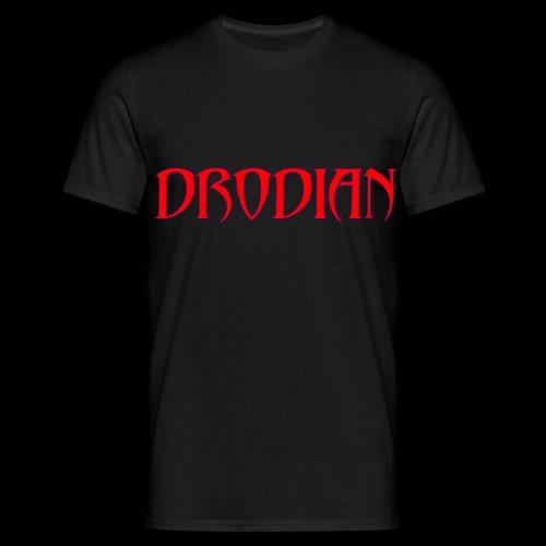 DRODIAN PURPLE RED ALT - Men's T-Shirt