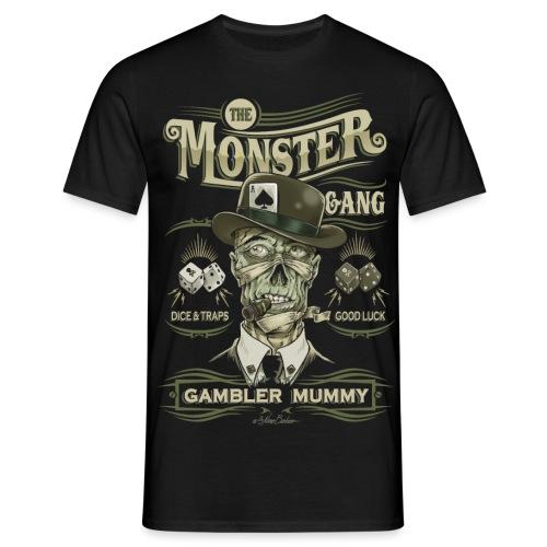 mummy face unido ok - Camiseta hombre