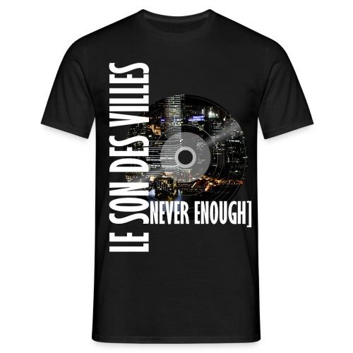 Le Son Des Villes : World Vinyl - T-shirt Homme