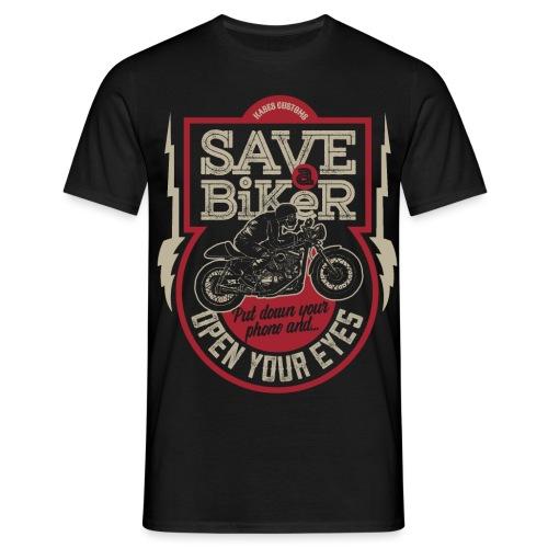 Save A Biker - Men's T-Shirt