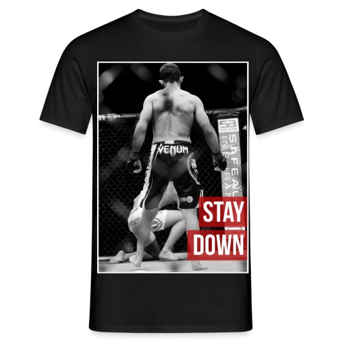Phil Harris Stay Down - Men's T-Shirt