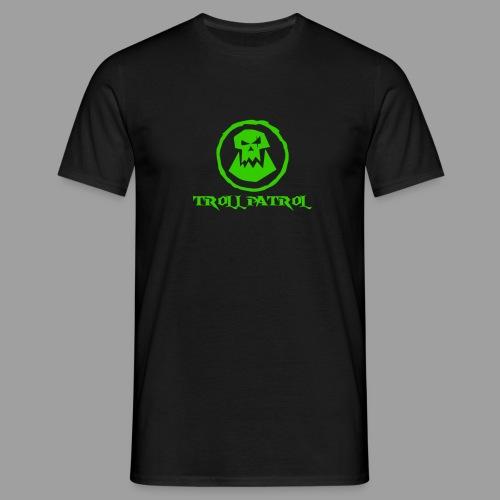 Troll Patrol Logo 2 - Men's T-Shirt