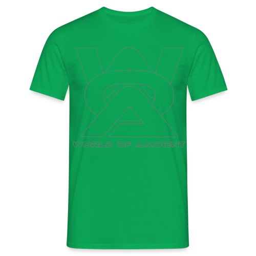 woa logo outlines - Men's T-Shirt