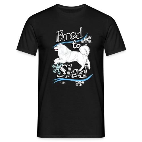 Samoyed Sled - Miesten t-paita