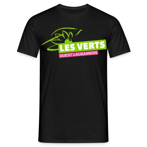Les Verts OL normal - T-shirt Homme