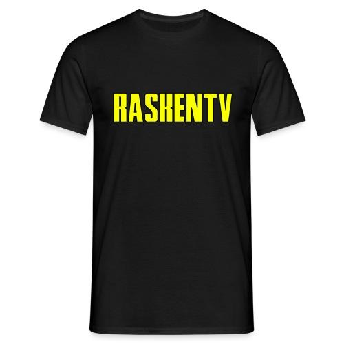 RaskenTv Yellow - T-shirt herr