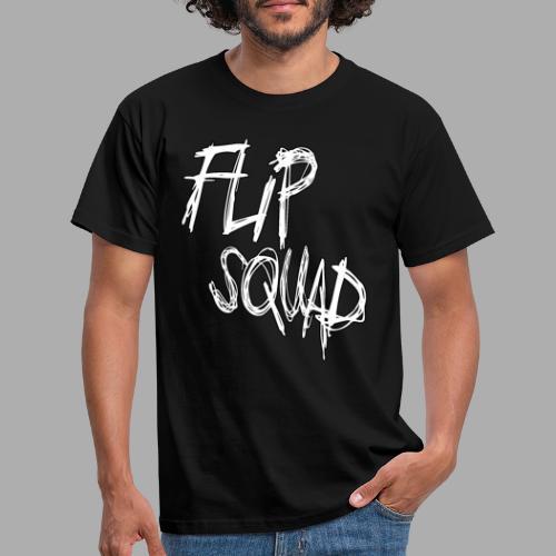 FlipSquad Vit - T-shirt herr