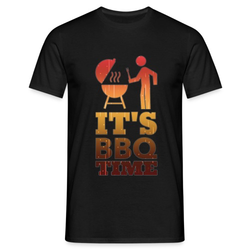 It's BBQ Time - Mannen T-shirt