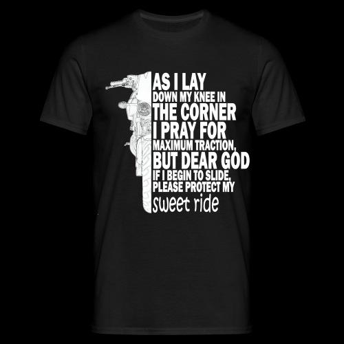 As I Lay Down My Knee XB12S - T-shirt herr