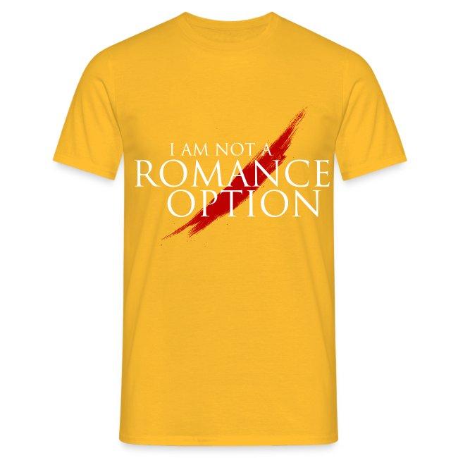 I am NOT a Romance Option