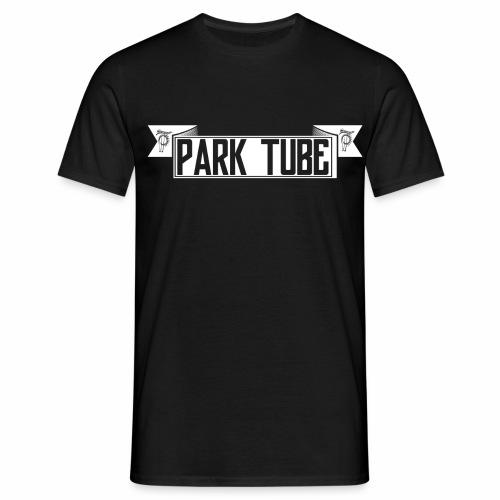 ParkTube Banner weiss - Männer T-Shirt