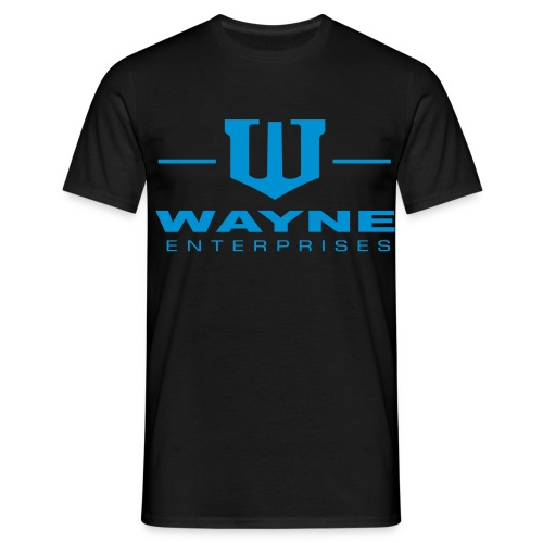 Wayne Enterprises white - Männer T-Shirt