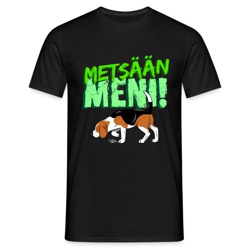 beaglemetsaanmeni - Miesten t-paita