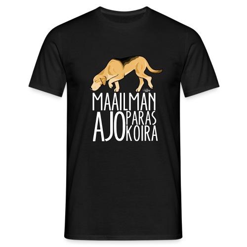 Venäjänajokoira Paras - Miesten t-paita