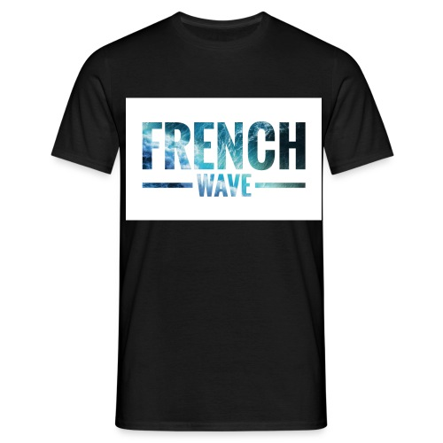 FRENCH WAVE LOGO - T-shirt Homme